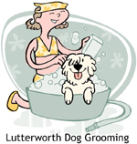 Lutterworth Dog Grooming Logo